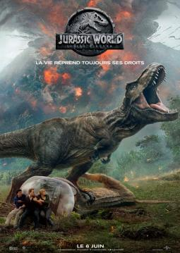 Affiche du film Jurassic World: Fallen Kingdom
